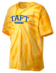 Taft Union High School Wildcats Kid's Tie-Dye T-Shirt