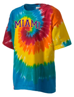 Miami High school Warriors Kid's Tie-Dye T-Shirt