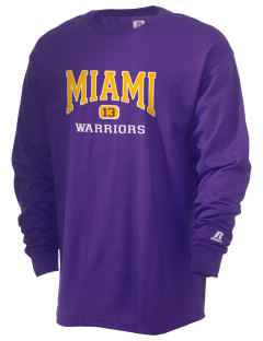 Miami High school Warriors  Russell Men's Long Sleeve T-Shirt