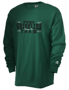 Pajaro Valley High School Grizzlies  Russell Men's Long Sleeve T-Shirt