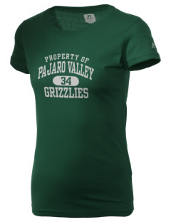 Pajaro Valley High School Grizzlies  Russell Women's Campus T-Shirt