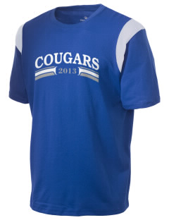 Cascade Christian School Cougars Holloway Men's Rush T-Shirt