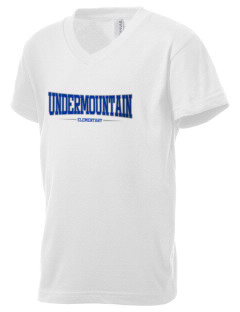 Undermountain Elementary Kid's V-Neck Jersey T-Shirt