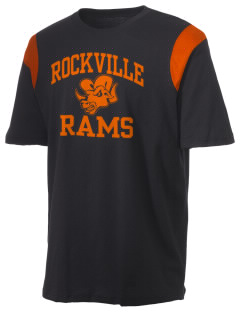Rockville High School Rams Holloway Men's Rush T-Shirt