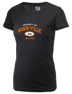 Rockville High School Rams  Russell Women's Campus T-Shirt