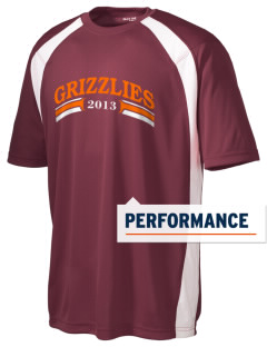 Queen Anne High School Grizzlies Men's Dry Zone Colorblock T-Shirt