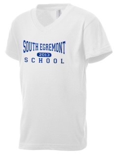 South Egremont School Kid's V-Neck Jersey T-Shirt