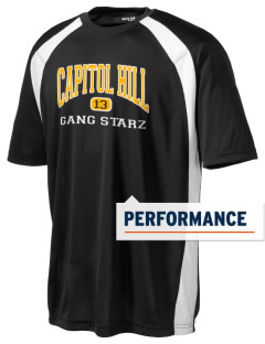 Capitol Hill Gang Starz Men's Dry Zone Colorblock T-Shirt