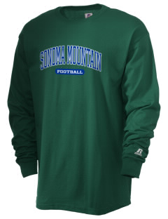 Sonoma Mountain Elementary Mountain Lions  Russell Men's Long Sleeve T-Shirt