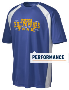 Saint Mary's High School Hilltoppers Men's Dry Zone Colorblock T-Shirt