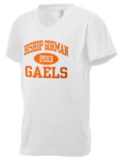 Bishop Gorman High School Gaels Kid's V-Neck Jersey T-Shirt