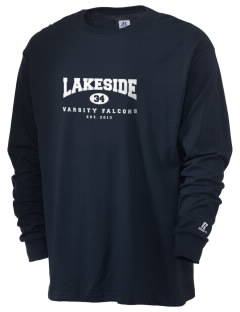 Lakeside Christian Academy FALCONS  Russell Men's Long Sleeve T-Shirt