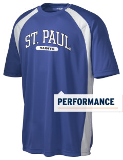 Saint Paul School Saints Men's Dry Zone Colorblock T-Shirt