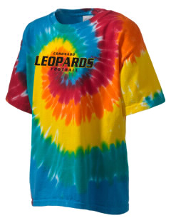 Coronado Middle & High School Leopards Kid's Tie-Dye T-Shirt