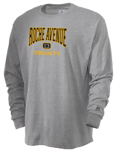 Roche Avenue School Knights  Russell Men's Long Sleeve T-Shirt