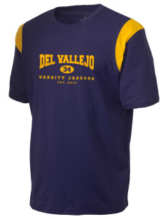 Del Vallejo Middle School Jaguars Holloway Men's Rush T-Shirt