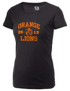 Orange High School Lions  Russell Women's Campus T-Shirt