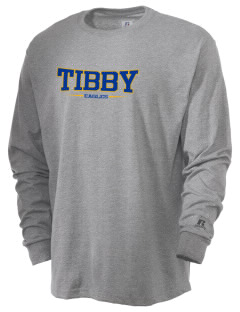 Tibby Elementary School Eagles  Russell Men's Long Sleeve T-Shirt