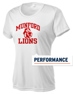 Munford High School Lions Women's Competitor Performance T-Shirt