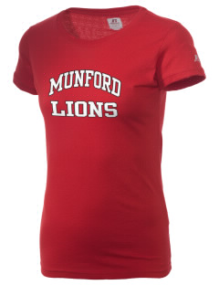 Munford High School Lions  Russell Women's Campus T-Shirt