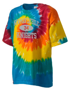 Newman Catholic School Knights Kid's Tie-Dye T-Shirt