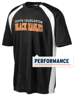 South Charleston High School Black Eagles Men's Dry Zone Colorblock T-Shirt