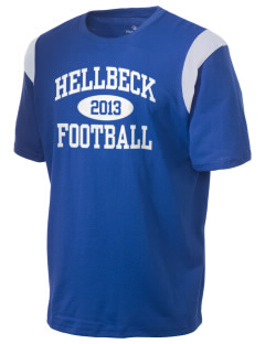 Hellbeck Elementary School Mustangs Holloway Men's Rush T-Shirt