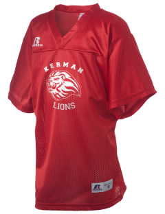 Kerman High School Lions Russell Kid's Replica Football Jersey