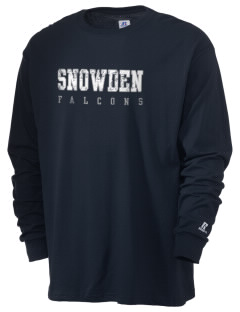 Snowden Elementary School Falcons  Russell Men's Long Sleeve T-Shirt