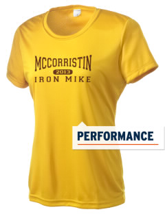 McCorristin Catholic High School Iron Mike Women's Competitor Performance T-Shirt