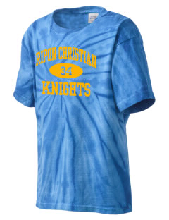 Ripon Christian School Knights Kid's Tie-Dye T-Shirt