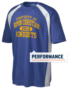 Ripon Christian School Knights Men's Dry Zone Colorblock T-Shirt