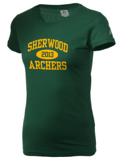 Sherwood Elementary School Archers  Russell Women's Campus T-Shirt