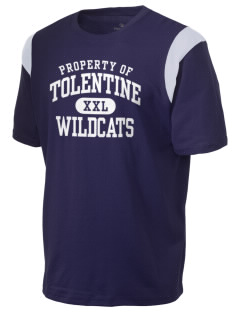St. Nicholas of Tolentine High School Wildcats Holloway Men's Rush T-Shirt