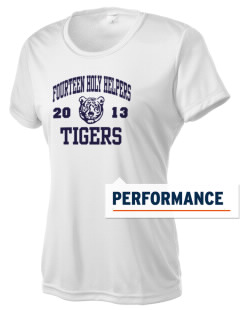 Fourteen Holy Helpers School Tigers Women's Competitor Performance T-Shirt