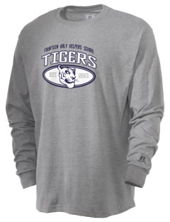 Fourteen Holy Helpers School Tigers  Russell Men's Long Sleeve T-Shirt