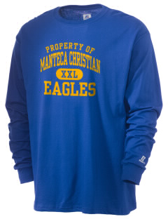 Manteca Christian School Eagles  Russell Men's Long Sleeve T-Shirt