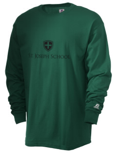 St. Joseph School Crusaders  Russell Men's Long Sleeve T-Shirt