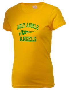 Holy Angels School Angels  Russell Women's Campus T-Shirt