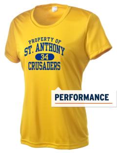 Saint Anthony School Crusaders Women's Competitor Performance T-Shirt
