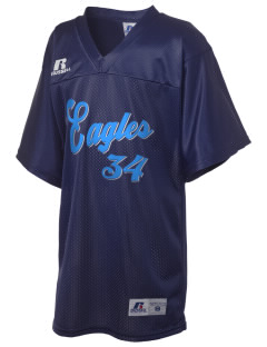 Vivian Banks Charter School Eagles Russell Kid's Replica Football Jersey