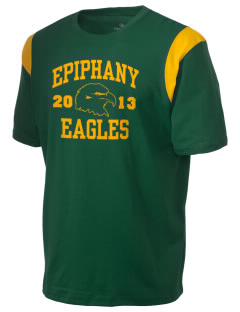 School Of The Epiphany Eagles Holloway Men's Rush T-Shirt
