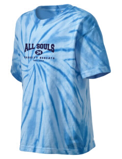 All Souls School Bobcats Kid's Tie-Dye T-Shirt