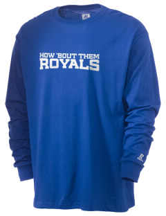 Mater Dolorosa Elementary School Royals  Russell Men's Long Sleeve T-Shirt