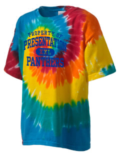 Presentation High School Panthers Kid's Tie-Dye T-Shirt