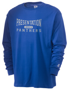Presentation High School Panthers  Russell Men's Long Sleeve T-Shirt