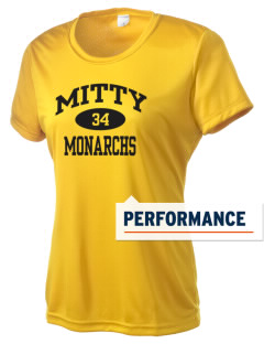 Archbishop Mitty High School Monarchs Women's Competitor Performance T-Shirt