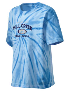 Mill Creek Middle School Bulldogs Kid's Tie-Dye T-Shirt