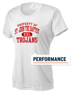 Saint John The Baptist School Trojans Women's Competitor Performance T-Shirt