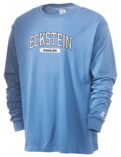 Eckstein Middle School Eagles  Russell Men's Long Sleeve T-Shirt